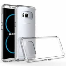Samsung Galaxy S8 Plus Clear TPU Case Shockproof Bumper Cover Clear Frame Bump