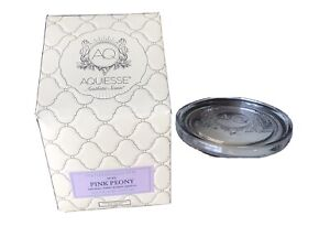 AQUIESSE PINK PEONY Scent Boxed Soy Candle 5 Oz Portfolio Collection New