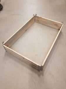 Holzaufsatzrahmen, 120 x 80 cm, 40 Stück