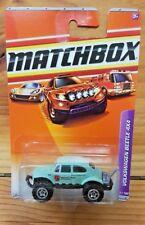 """MATCHBOX 2010 VOLKSWAGEN BEETLE 4x4 #91/100 LIGHT BLUE """"NATIONAL PARKS"""" (A+/A-)"""