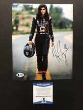 Hailie Deegan autographed signed 8x10 photo Beckett BAS COA NASCAR Sexy Hot ARCA