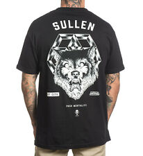 Sullen Clothing Mens Pack Mentality Wolf Black T Shirt