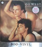 GO WEST - BANGS AND CRASHES DOUBLE GATEFOLD ALBUM VINYL LP RECORD 33rpm EX