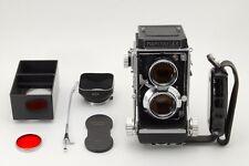 N MINT Mamiya Mamiyaflex C2 TLR Camera 80mm 2.8 Lens w/ HAND GRIP, FOOD, JP Z256