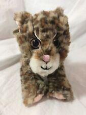 American Girl Margay Cat Plush Pet Lea Clark Brown Spotted Beige 7""