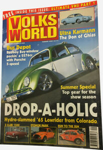 Volks World Magazine - Summer 2003 - BEETLE BUG BUS KOMBI VW CAMPER