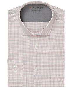 Calvin Klein Men's Non Iron Extreme Slim Fit Dress Shirt 17 - 17.5 32 / 33 NWT