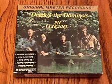 DEREK & THE DOMINOS MFSL 24 KARAT GOLD 2-CD SET  IN CONCERT ~ BRAND NEW!