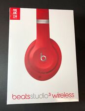 Beats by Dr Dre Beats Studio 3 Wireless Headphone [ RED Edition ] NEW