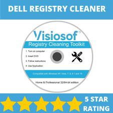 DELL PC Registry Cleaner Mechanic Tools Repair Recovery Windows XP VISTA 7 8 10