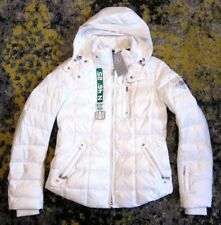NWT $1,649 BOGNER Womens Kaley - D Down Jacket in White sz 36 / US 6