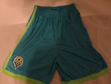 Seattle Sounders Blue & Green Shorts FC Soccer Club Seattle Washington MLS