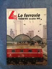 MODELLISMO FERROVIARIO CATALOGO LIMA 1989/90 SCALA HO