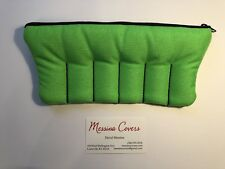 Messina Covers SIX 6 Trumpet Mouthpiece Case Pouch Neon Green Acid