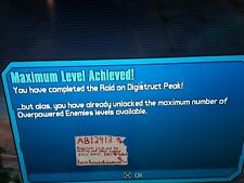 Borderlands 2 (PS3 PS4) MAX OVERPOWER LEVEL OP 8-10 Join 15-30 Minutes! DigiPeak