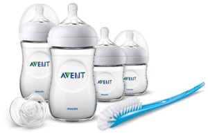 Avent NATURAL 2.0 NEWBORN STARTER SET Baby Feeding Bottle Soft Teat 0m+ BN