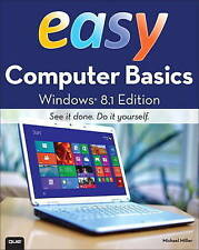 Easy Computer Basics, Windows 8.1 Edition, Miller, Michael, Used; Good Book