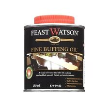 Feast Watson FINE BUFFING OIL 250ml Gives smooth finish on Interior Timber