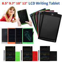 """8.5-12"""" Electronic Digital LCD eWriter Tablet Writing Pad Drawing Graphics Board"""