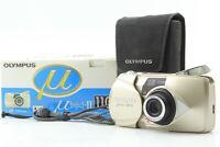 [MINT in BOX Case] Olympus mju II 110 35mm Film Camera AF Zoom From Japan 253