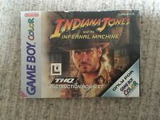 Indiana Jones Infernal Machine - Game Boy Color GBC Instruction Manual Only