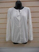 LADIES TOP IVORY SIZE 6 BONPRIX COLLECTION CASUAL JERSEY LONG SLEEVE BNWT