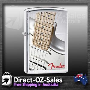 "Zippo Lighter ""Fender Guitar"" 28845 - Aussie Seller - FREE POST"