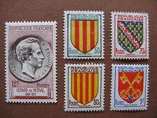 FRANCE neufs n° 1043 à 1047 (1955)