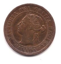 1899 Canada Large Cent-- Strong Hair & Crown  Details !!
