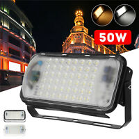 50W 48 LED 3600lm Waterproof Flood Spot Outdoor Garden Floodlight Lamp Light