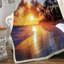 Fleece Blanket Rug Blanket Sofa Cover Soft Digital Printing Flannel Blanket For