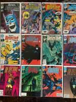 Detective Comics Copper Age Lot, 12 Issues,   DC, High Grade, #'s 620-632.