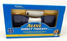 Aleve Direct Therapy Tens Device- Relief Lower Back Pain w/ Remote. Damaged Box.
