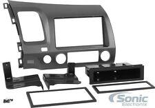 Scosche HA1561DGB Single/Double DIN Install Dash Kit for 2006-11 Honda Civic
