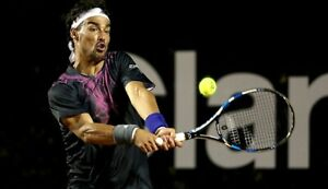 adidas Herren Tennis Shirt M Fognini