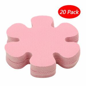 20 Flower Safety Non-Slip Applique Flower Sticker Tread Mat Bath Tub&Shower Pads