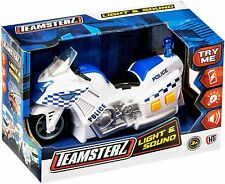Teamsterz Small Light And Sound Police Motorbike Kids Children Motorcycle Toy