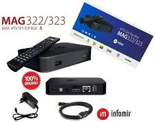 MAG 322 IPTV Player Multimedia Streamer Set-Top-Box HEVC H.265 ORIGINAL Infomir