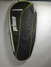 Prince Youth Tennis Bag Backpack Gray Green White Children's NWT Sport Court