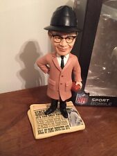 """Green Bay Packers Vince Lombardi """"Hall of Fame"""" Newspaper Bobblehead NEW"""