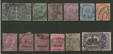 INDIA British Commonwealth lotto usato occasione!