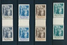 Vatican 80-3 1942 Pius Xii 25th Anniv Consecration as Archbishop gutter pairs Nh