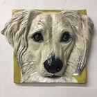 Saluki Dog Ceramic Relief Tile Handmade 3d Pet Portrait Sondra Alexander Art