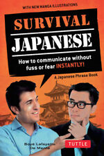 Survival Japanese Phrasebook *FREE SHIPPING - NEW*