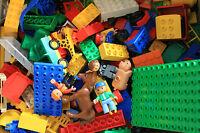 LEGO DUPLO  KNALLER !!!! 1 KG GEMISCHTE STEINE AUTOS TIERE ....... !!!!!1
