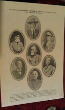 1913 Civil War Gettysburg PA. Battle 50th Reunion United Confederate Veterans