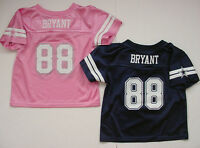 NWT New Dez Bryant 88 Dallas Cowboys MESH Jersey Toddler Baby Sz 2T 3T 4T