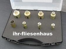 8er Set Diamantbohrkrone M14 Trocken Bohrkrone Diamantbohrer für Feinsteinzeug