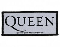 QUEEN logo 2008 - WOVEN SEW ON PATCH official merchandise - no longer made
