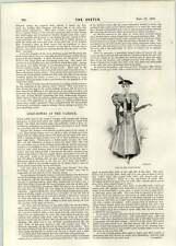 1896 Winter Dresses Golf Gowns At The Garrick